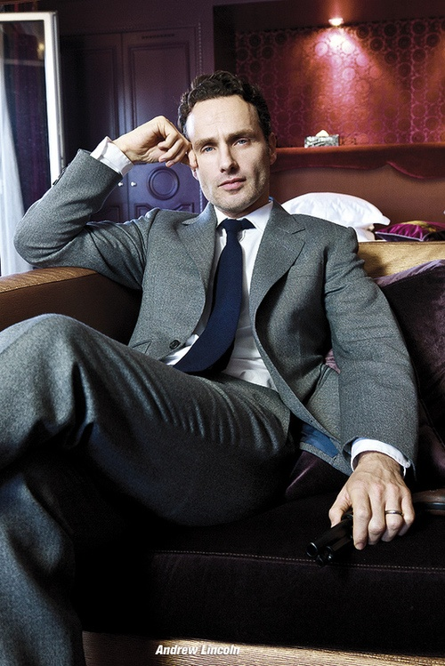 Andrew Lincoln- Mmmm, Rick Grimes #walkingdead