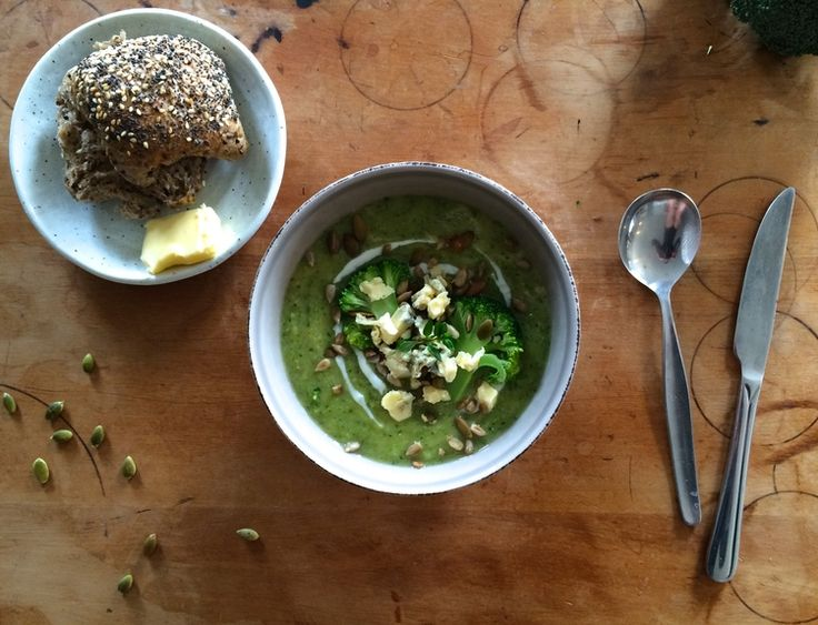 Broccoli and Blue Cheese Soup — Sophie Likes Cake