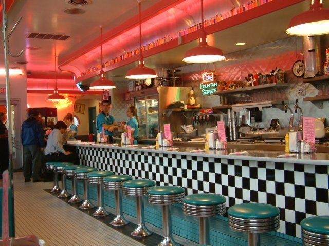 17 Best Images About Diners On Pinterest Jukebox Pastel