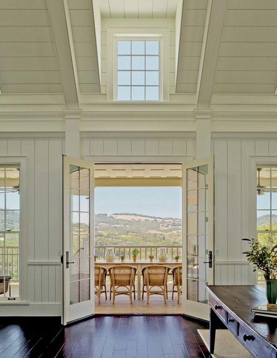 Interior walls, windows + doors...{Cape Cod Collegiate}