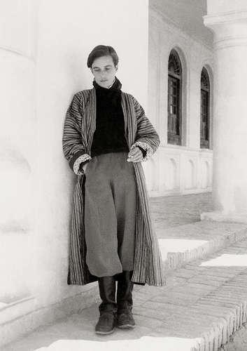 cool tomboy style | Annemarie Schwarzenbach in Taschkurghan, Afghanistan, Oktober 1939