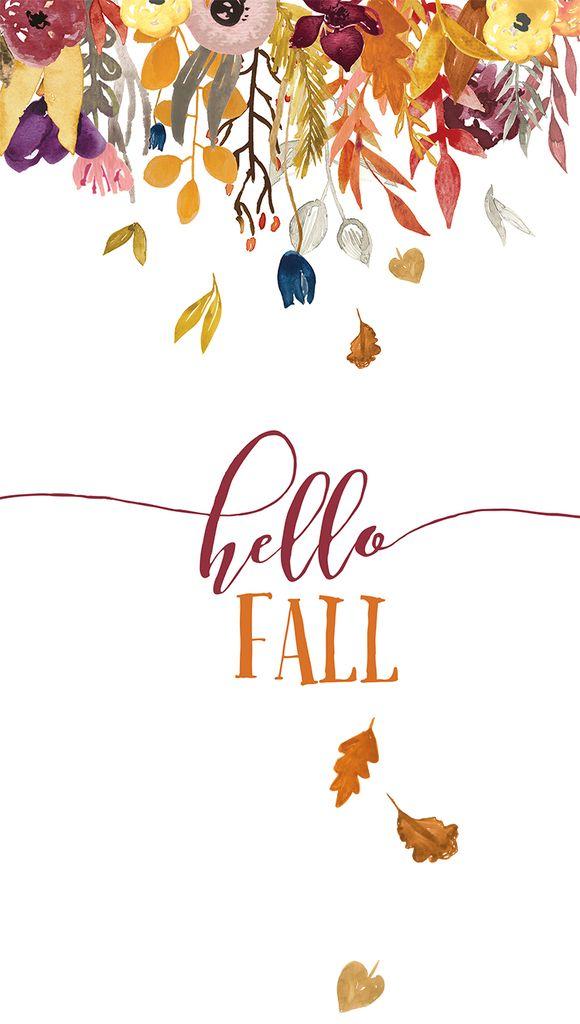 Fall iPhone wallpaper HELLO FALL.jpg - Box