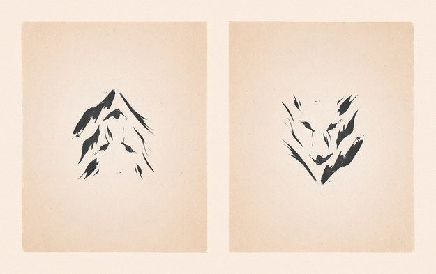 Wilderness | These Minimalist Illustrations Are Actually Mind Blowing Optical Illusions