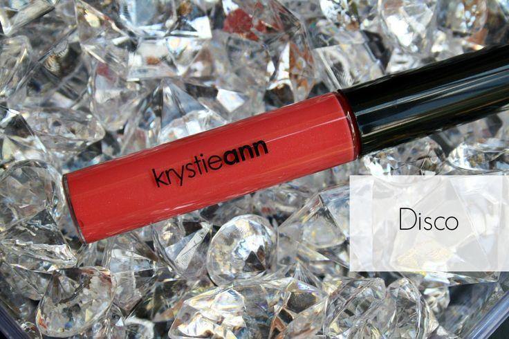 Krystie Ann Cosmetics: Lip Gloss  Shade: Disco Price: $15  Lip gloss, cosmetics, makeup, gloss, pink gloss, bold lip colour, bold lips  www.krystieann.com