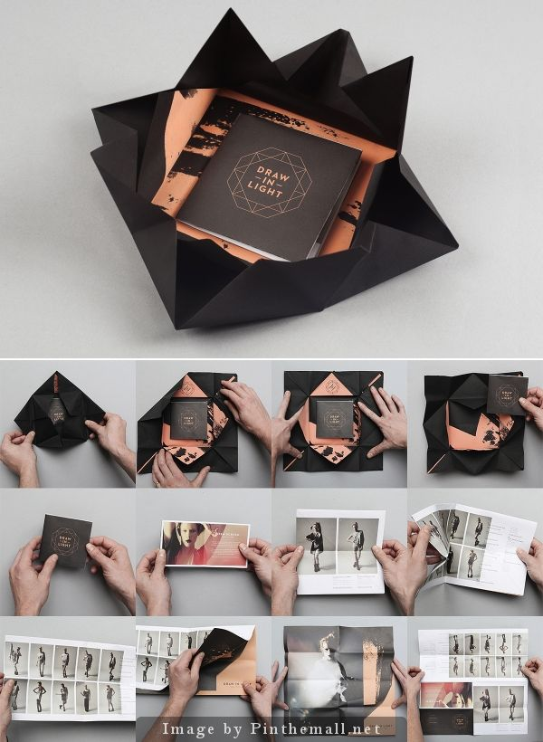 45 best ep images on Pinterest Editorial design, Layout design - folded brochure