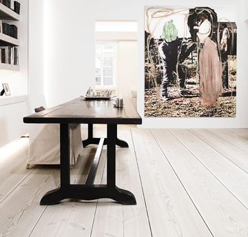 █  Finish: lye and white floor soap  Architect: Anouska Hempel