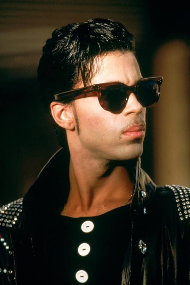 Prince on the movie set of Under The Cherry Moon in Nice France in full Kiss outfit! 1986!