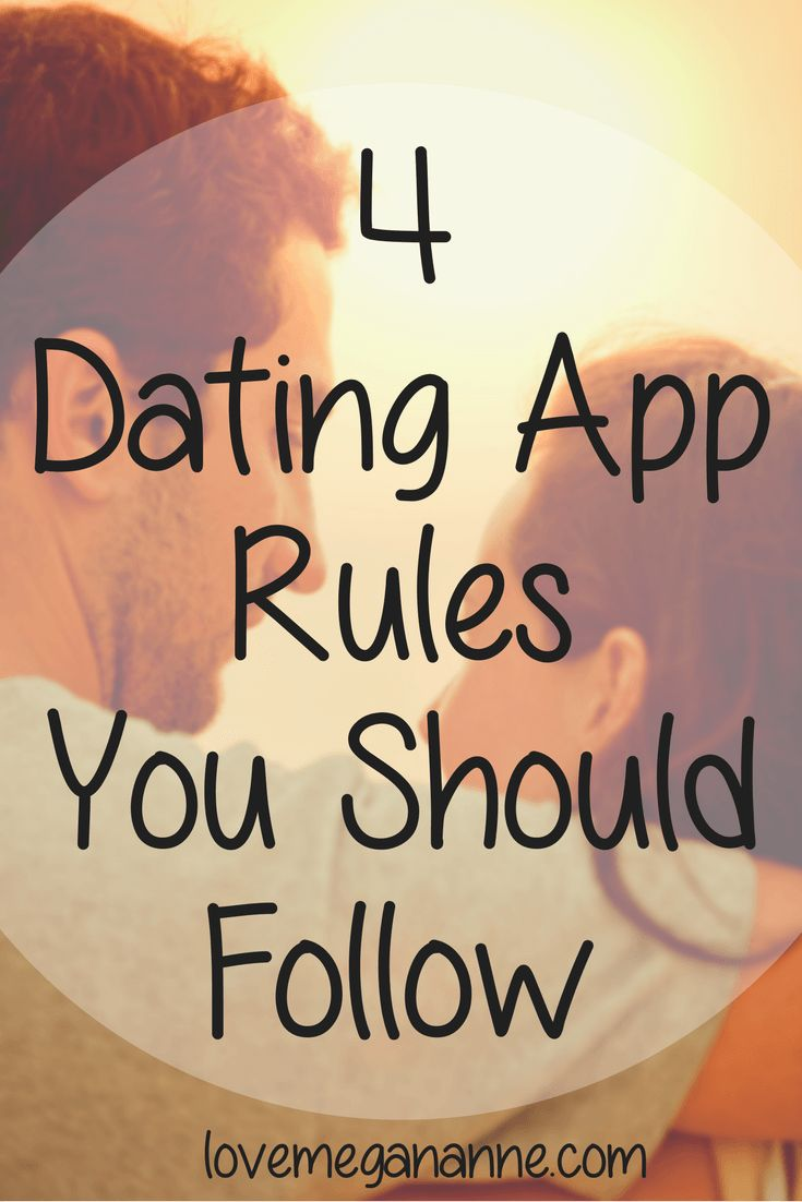 Rules to stay anonymous online dating