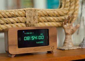 The Cdock iPhone Clock — Daily Find