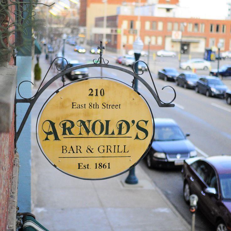Arnold's: oldest bar in downtown Cincinnati