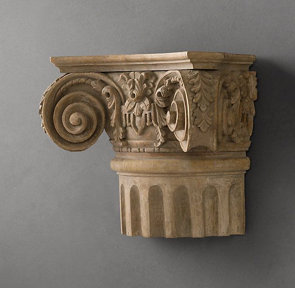 Ionic Capital | Carvings | Restoration Hardware