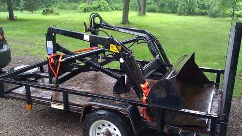 Splendid Garden Tractor Front End Loader Kits Marvelous Design Front