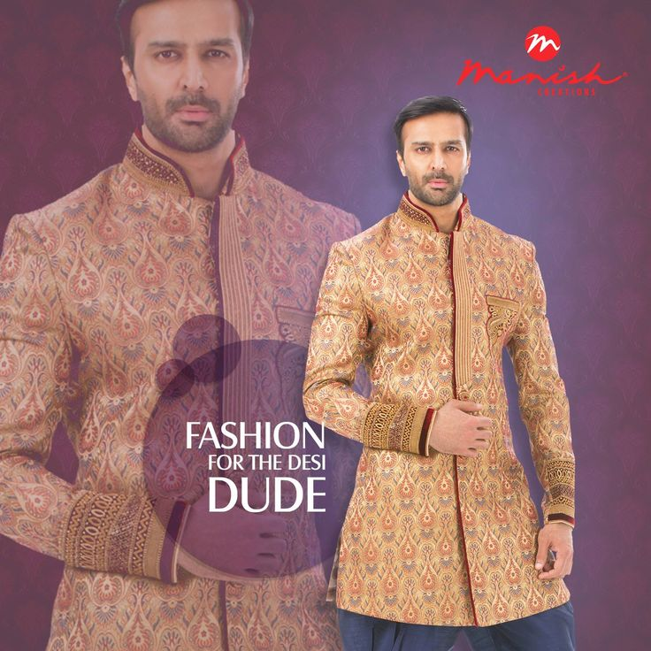 It's time to play your style cards the ethnic way. Amaze the world in your true Indian colours as you adorn our designs that are the desi best.  #ManishCreations #MensFashion #IndianWear #EthnicStyle #DesiDude #Royal #Traditional