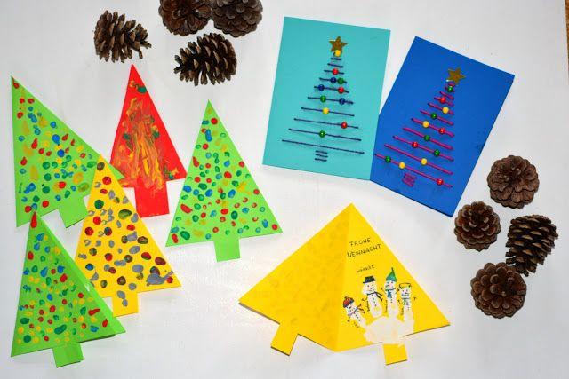 Die besten 17 bilder zu basteln mit kindern auf pinterest for Weihnachtskarten mit kindern basteln