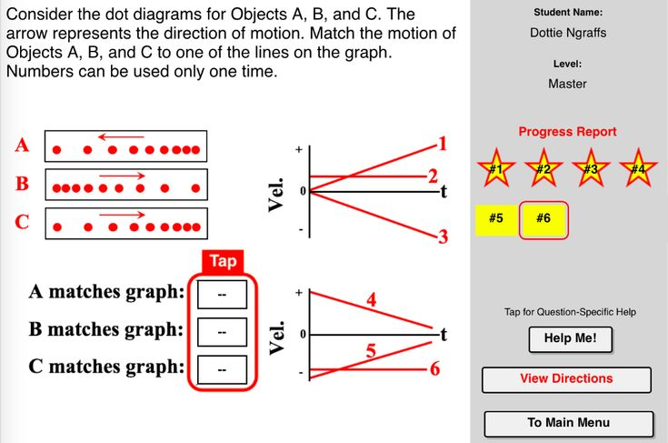 Dots And Graphs Concept Builder This Interactive Exercise Challenges The Learner To Asso Learn Physics Elementary Science Activities Survival Kit For Teachers Position time graph worksheet