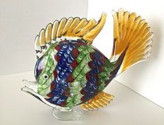 Studio Marco Polo - Mooie veelkleurige vis - Venetiaans glas