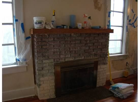paint bricks forward removing stripping paint from brick fireplace. Black Bedroom Furniture Sets. Home Design Ideas