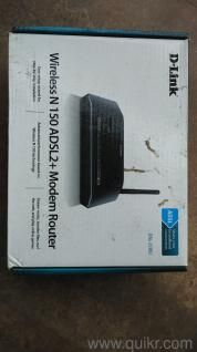 i want to sell my D-Link Wireless N 150 ADSL2+ Modem Router. it is in very good condition having all accessories like CD, Cables, Adapter.  Call me at: 9860457116. When you call, don't forget to mention that you found this ad on ask2ads.com