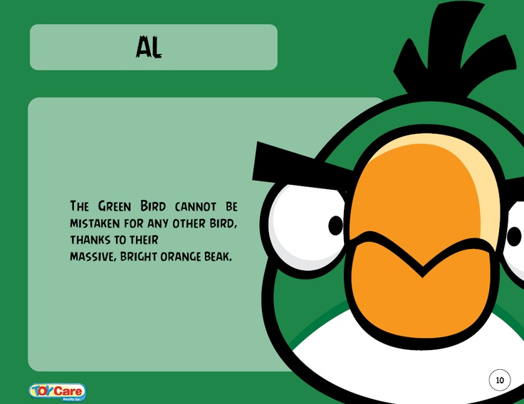 To See Images Of Hal Please Go His Gallery Is A Character In The Angry Birds Series