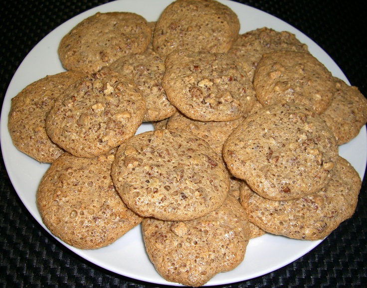 Crunchy Pecan Cookies- A Naturally Gluten Free Recipe from Andreas ...