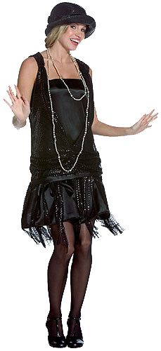 Inspired Flapper outfit