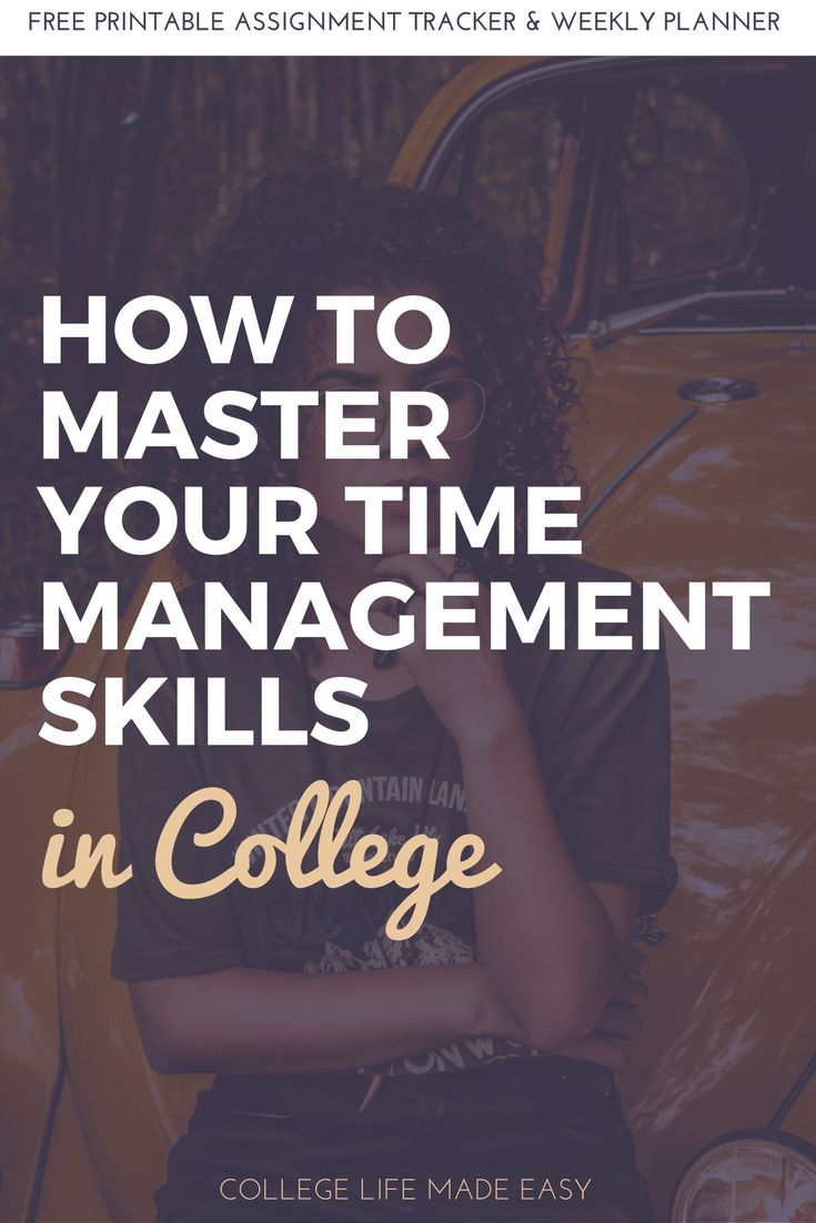 Time Management Skills for College Students | How to Time Manage | How to Time Management | Student Productivity | Tips for College Students| Free printable, printables | organization daily schedules | weekly worksheets planner | strategies | hacks | motivation | Articles | How to be Organized | How to Get Organized | Organization Ideas | Life Organization via @esycollegelife