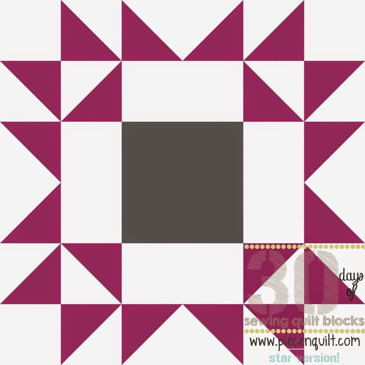Piece N Quilt: How to: Arizona Star Quilt Block - 30 Days of Sewing Quilt Blocks- Star Version!