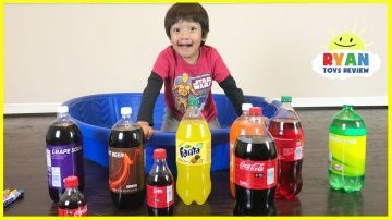 Learn Colors with Coca Cola and Fanta for Children Toddlers and Babies!  Kids Learn Colours Video http://video-kid.com/21451-learn-colors-with-coca-cola-and-fanta-for-children-toddlers-and-babies-kids-learn-colours-vide.html  Learn Colors with Coca Cola and Fanta for Children Toddlers and Babies with Ryan ToysReview! Great Children Educational video for Kids that teaches kids to learn colors, size, and to count! Thanks for joining this children activities with Ryan's Family that kids can…