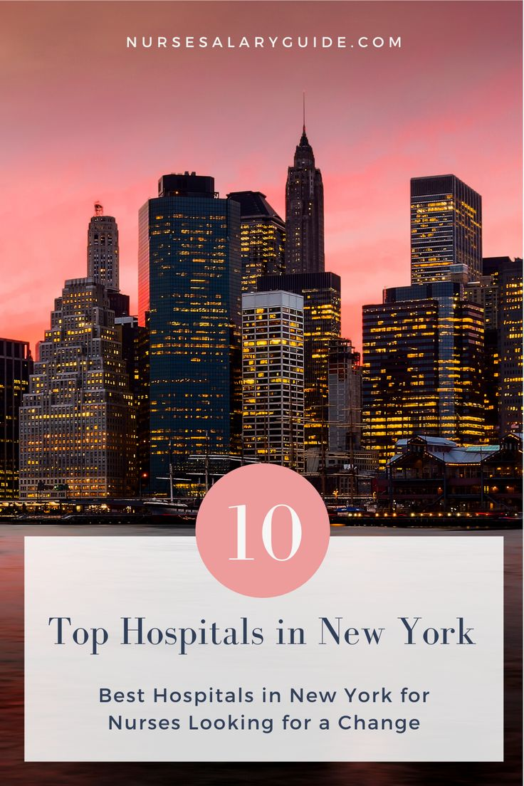 Top 10 hospitals in new york nurse salary guide best