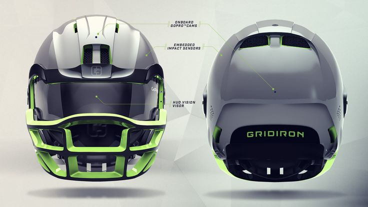 Utilizing our product design, user experience, and brand identity chops–Gridiron Labs built a design case study imagining how the football helmet could evolve into a prolific wearable device by the year 2030. What follows is a design case study for how th…