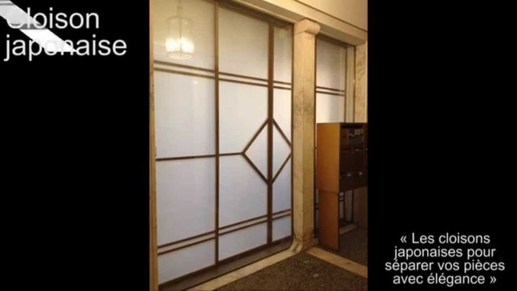154 best images about cloison japonaise coulissante et for Porte japonaise