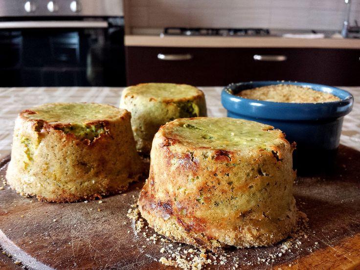 Sformatini di broccoli e scamorza - Le video ricette di Lara - YouTube