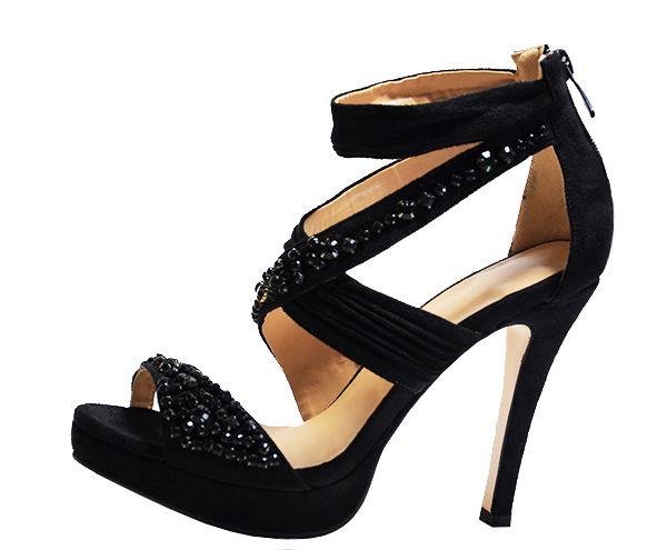 European Ribbon Platform Pu Open Toe Ultra High Heel Professional Summer Alluring High Heel Sandals