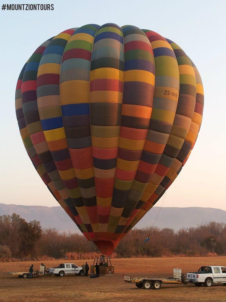 Hot Air Balloon.Book at:www.mountziontours.co.za