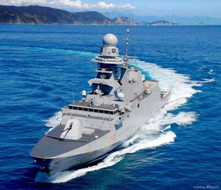 Carlo Bergamini Fremm Class Frigate Italian Navy Virginio