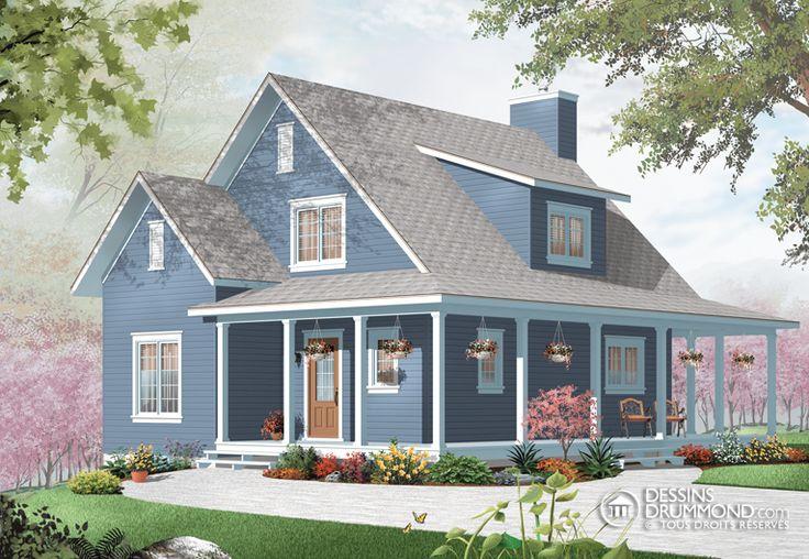 Les 54 meilleures images du tableau maisons sur pinterest for Maison neuve classique