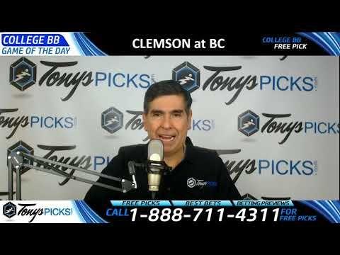 Clemson Tigers vs. Boston College Eagles Free NCAA Basketball Picks and ...