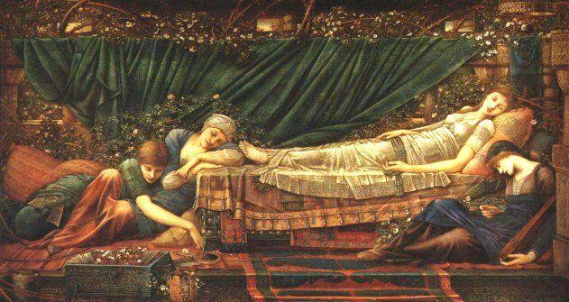 Sleeping Beauty (The Briar Rose) by Edward Burne Jones