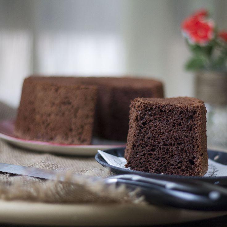 Chocolate Angel food Cake. Receta Norteamericana con Thermomix « Thermomix en el mundo