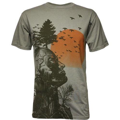 The Hangover Alan Human Tree Dark Khaki Adult Costume T-Shirt Tee X-Large @ niftywarehouse.com