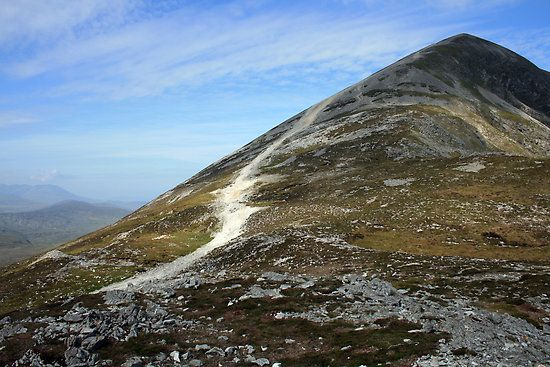 Hilltop pilgrimages are a traditional part of celebrating Lughnasa, such as climbing to the top of Croagh Patrick in Co. Mayo.
