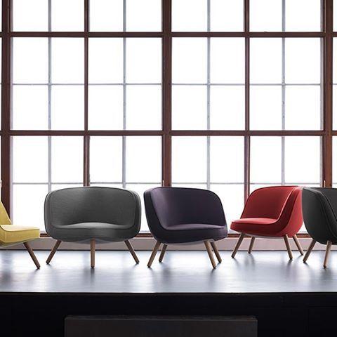 Inspirada no horizonte de Manhattan. Direto para a sua sala de estar. VIA57, Fritz Hansen. #atec #atecoriginaldesign #fritzhansen #via57 #chair #furniture #interiordesign #arq #arch