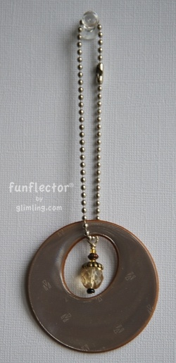 This Glimling purse reflector is a great way to look chic while staying a bit more visible on the roads.