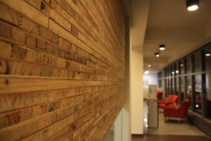 White Canvas - ide untuk screenAdvertising Agency, Canvas Offices, Offices Interiors Design, Creative Design, Wooden Offices, Wooden Wall, White Canvas 22 Feet Office9, Design Concept, Offices Wall