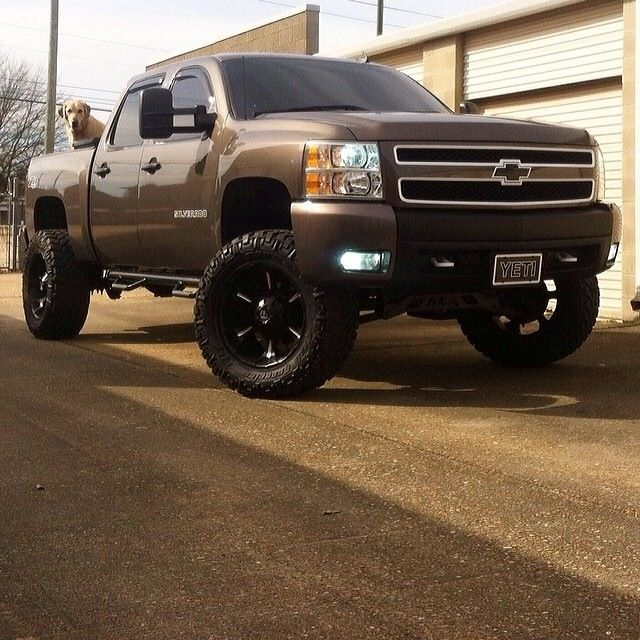 Jacked up Chevy!