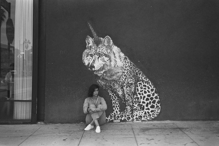 Uniwolfcheetah by Diana Garcia at Gjelina, 1429 Abbot Kinney Blvd. (at Milwood Avenue), Venice