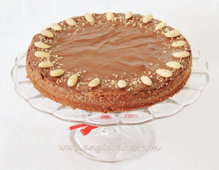 Mandľová čoko torta bez múky | Angie