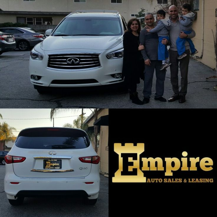 Congratulations Dear Lara & Masis on your Brand New Infiniti QX60. Thank you for your loyalty.  #empireauto #new #car #lease #purchase #finance #refinance #newcarlease #newcarfinance #leasingcompany #customerservice #GlenoaksBlvd #glendale #brokerage #autobrokersales #autobroker #autobrokers #wholsaler #2015infinitiqx60 #dvdpackage