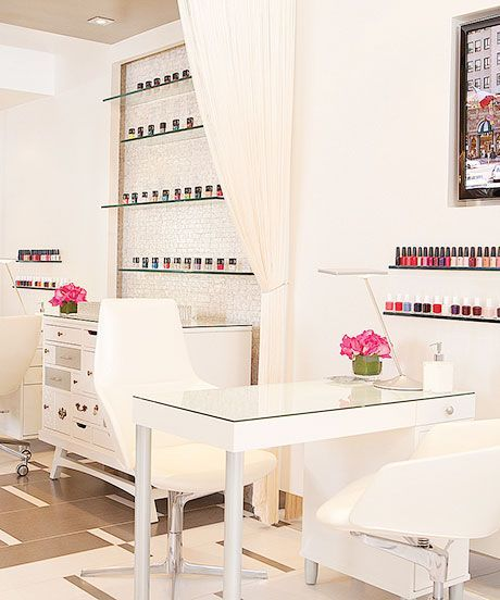 Best Nail Salon Shops Los Angeles | Achieve polished perfection at one of L.A.'s best nail shops. #refinery29 http://www.refinery29.com/best-nail-shops-los-angeles