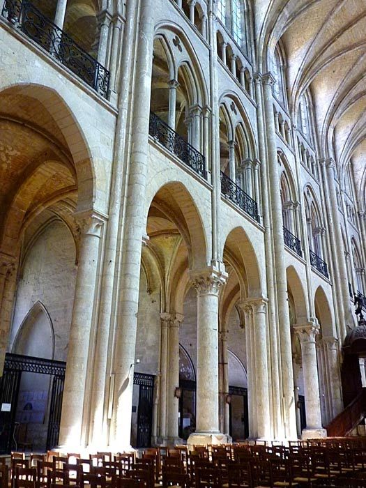 Noyon Gothic Cathedral ArchitectureMiddle AgesEl